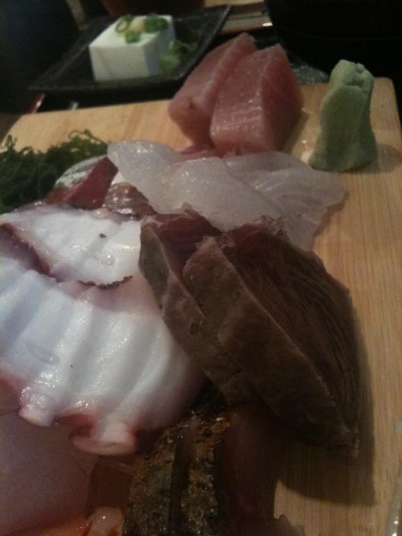 漁十八番:刺身定食