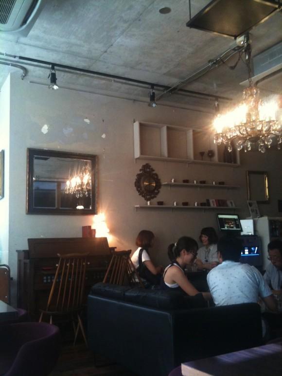 「MiLK cafe」内装
