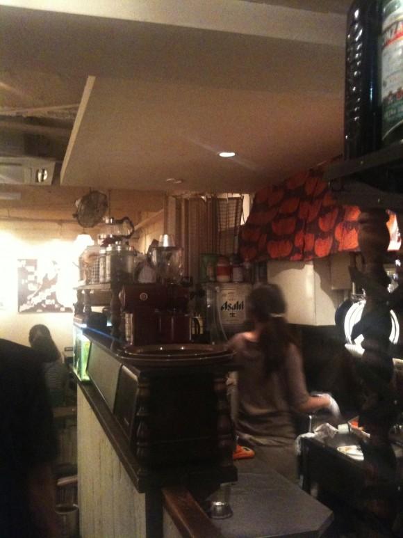 金魚カフェ内装