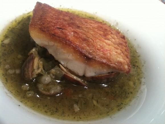 ブラッスリー・ラルテミス:主菜の魚料理