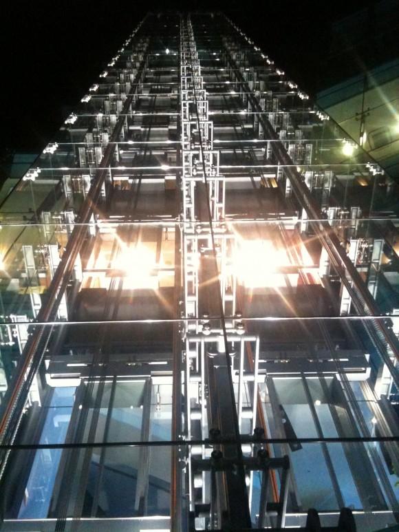 アウディフォーラム東京:夜景