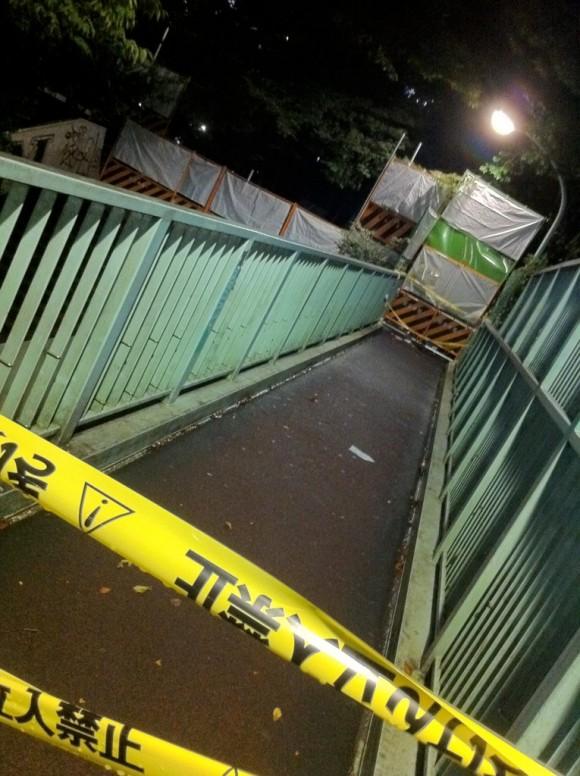 渋谷宮下公園の封鎖