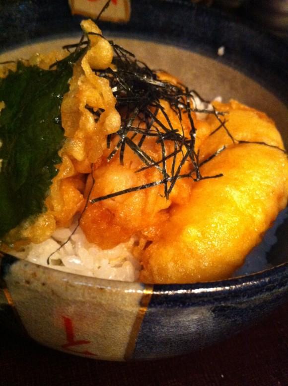 フグ天丼:1050円
