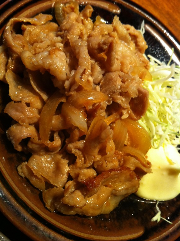 神宮前ほこちょう:原宿生姜焼定食