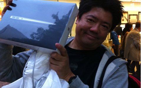 アップルストア渋谷でMacbook Air展示・販売開始!