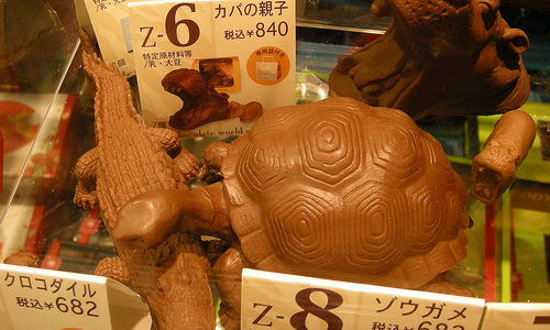 ZOOLOGYチョコレート