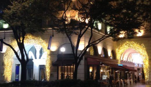 表参道アニヴェルセルカフェのオープンテラスでセレブ気分を楽しむ