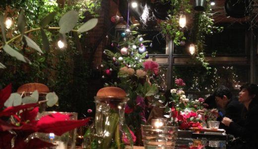 青山フラワーマーケットのティーハウスは2週間ごとにテーマを切り替わる緑一杯のカフェ