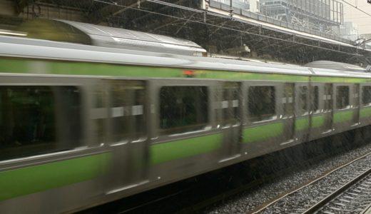 新宿・原宿にも初雪が降る
