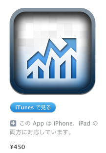 ITunes App Store でご利用いただける iPhone 3GS iPhone 4 iPhone 4S iPod touch 第3世代 iPod touch  第4世代 iPad 対応