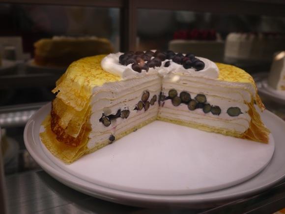 クリームチーズのミルクレープ