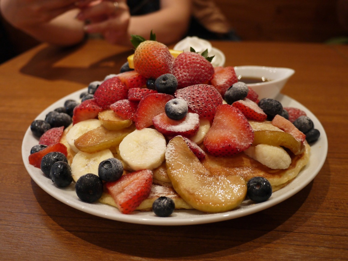 カイラ・オリジナルパンケーキ / カフェカイラ
