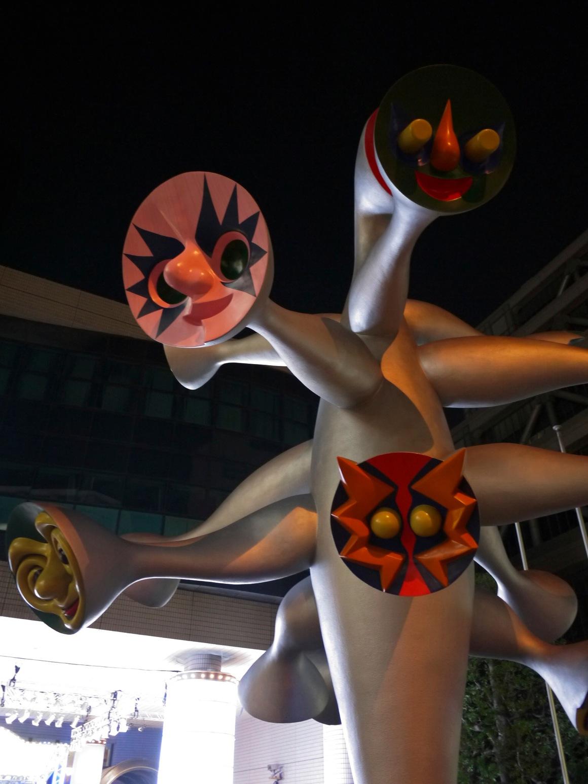 岡本太郎像