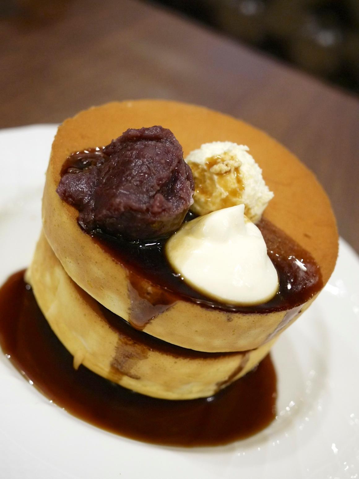 星乃珈琲 渋谷109MENSのパンケーキ