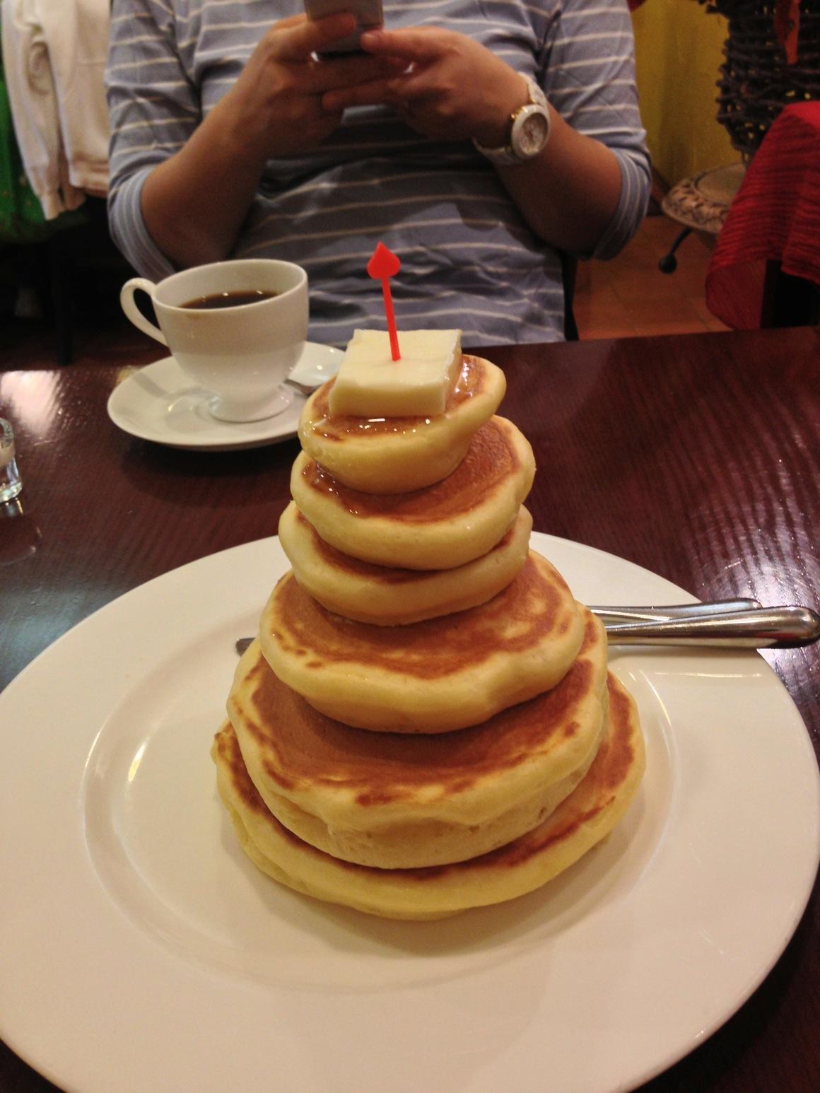 ミモザのパンケーキ