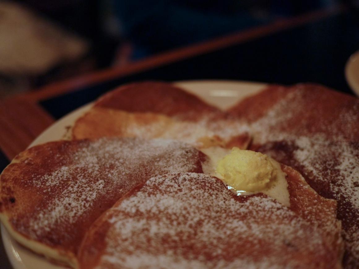 サンフランシスコ・ピークスのパンケーキ