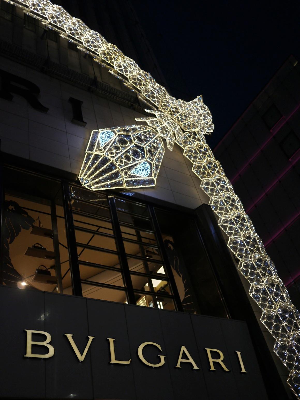 銀座BVLGARIタワーの蛇
