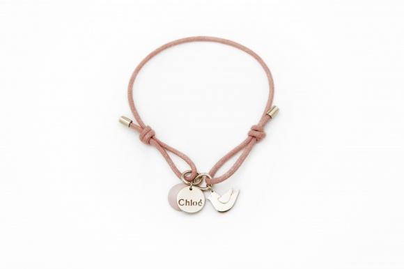 Chloe pink charity bracelet