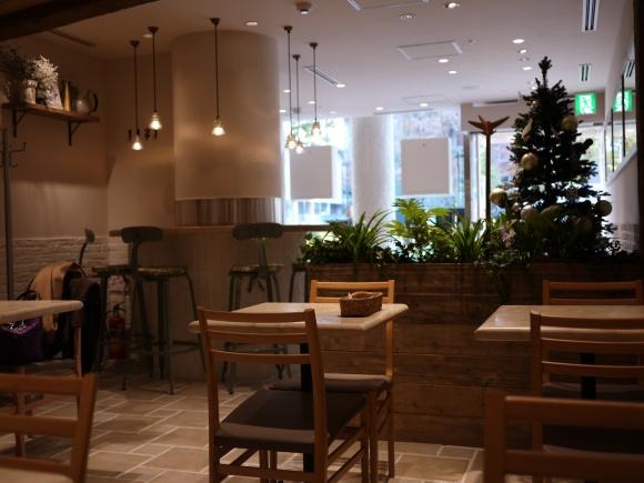 店内 / j.s. pancake cafe青山店