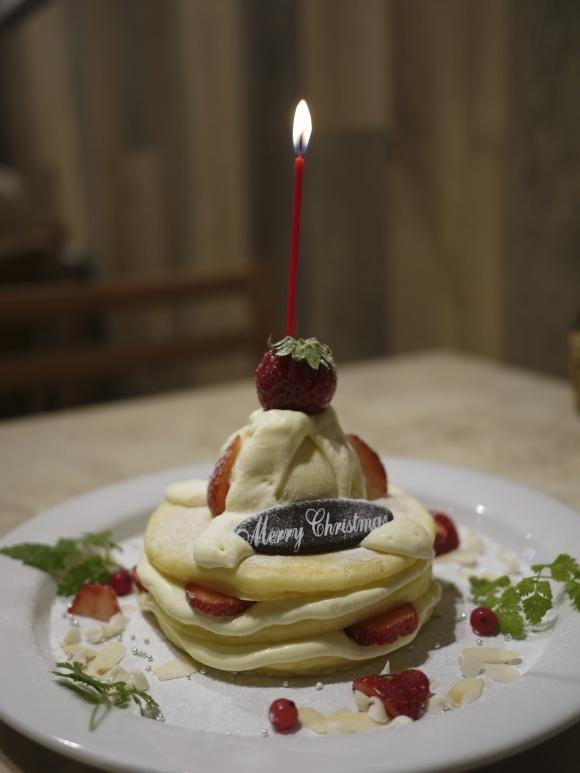クリスマスパンケーキ / j.s. pancake cafe青山店