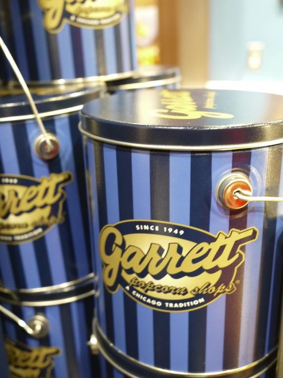 Garrettのポップコーン缶