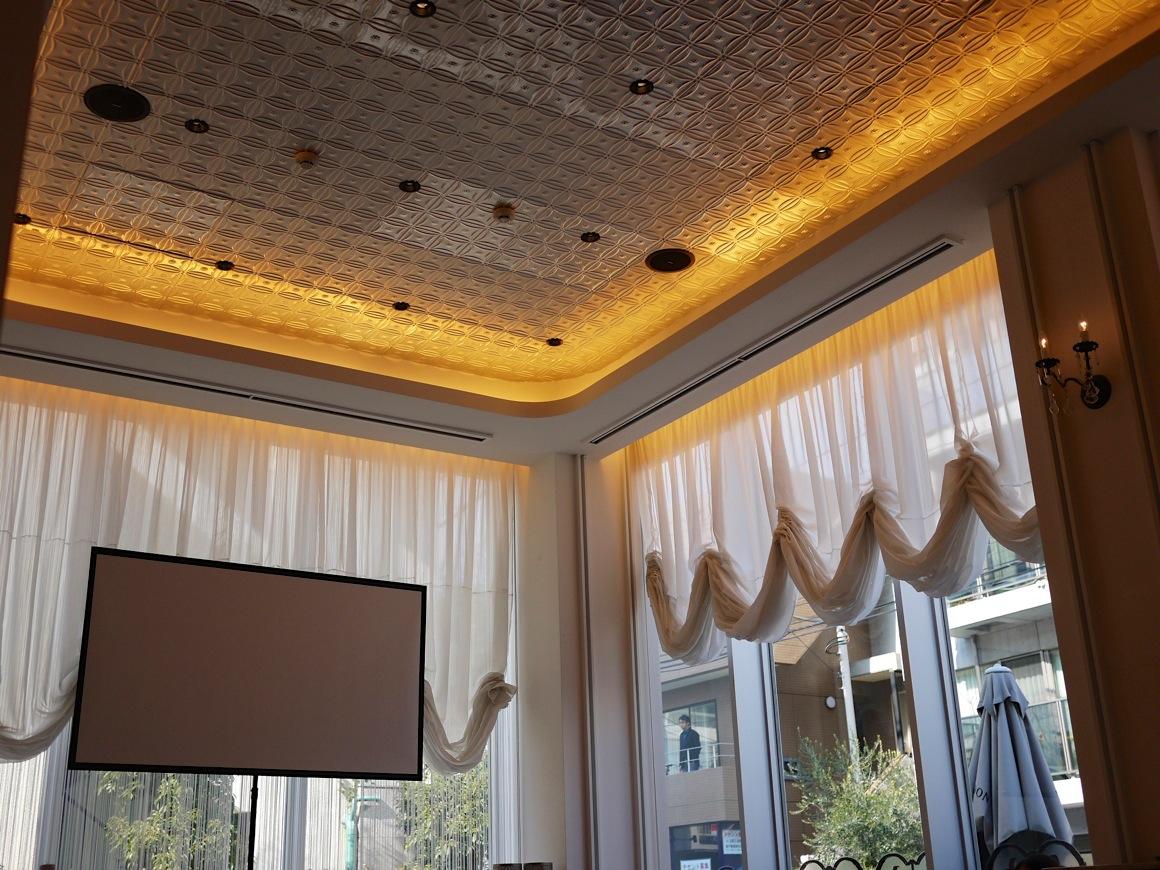 ドゥ・アンジュの天井