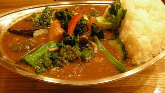 武蔵小金井カレーのプーさんの野菜カレー