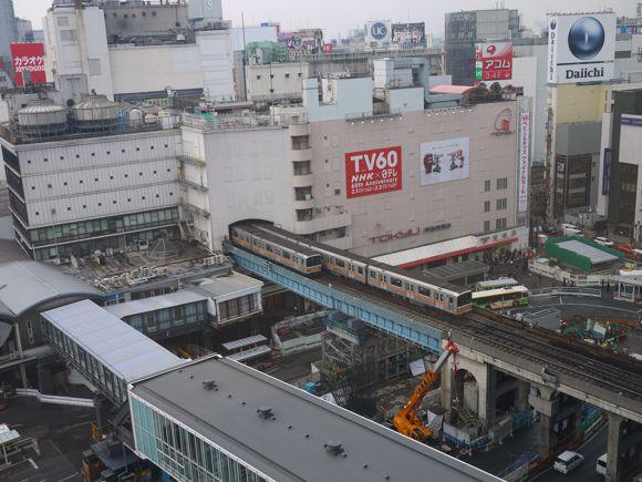 渋谷駅と銀座線