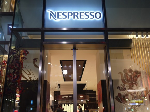 ネスプレッソカフェ外観