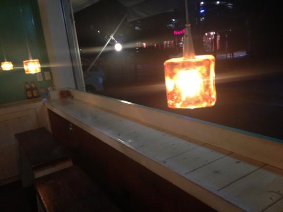 CAFE AZZURROのテラス席
