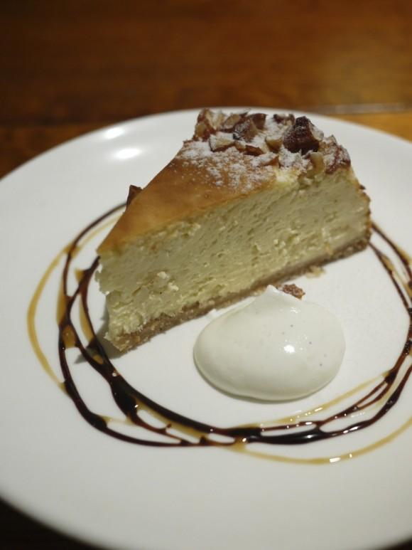 CAFE AZZURROのチーズケーキ