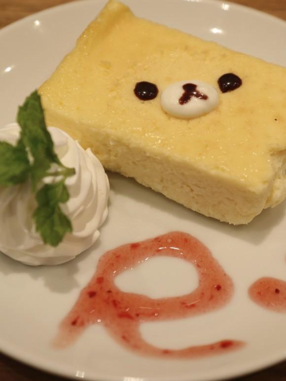 リラックマ・チーズケーキ