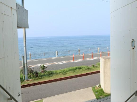 七里ヶ浜の海!