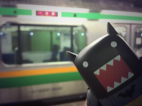 品川から東海道線に乗り換え
