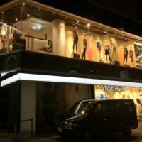 リニューアルオープン前夜のTopshopラフォーレ原宿店