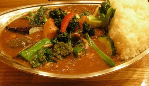 武蔵小金井カレーのプーさん:風邪を引いたら薬より効くと言われる野菜てんこ盛りカレー