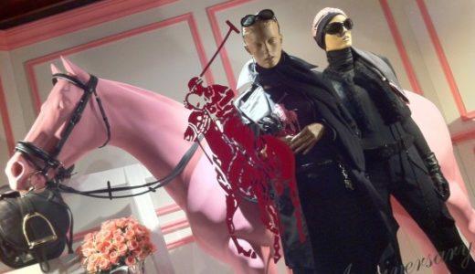 ラルフローレン表参道店がチャリティでピンクにライトアップ中