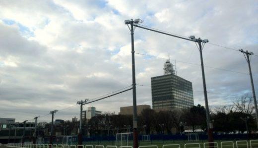 代々木競技場横に4面のフットサルコートが完成、5日からプレオープン