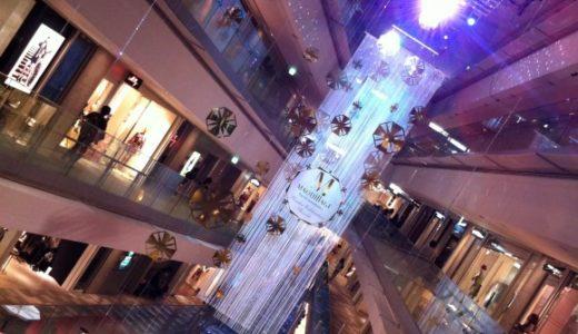 表参道ヒルズのマキアージュ5周年記念ギャラリーがキラキラで良かった
