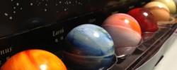 レクラの惑星チョコを開けた所