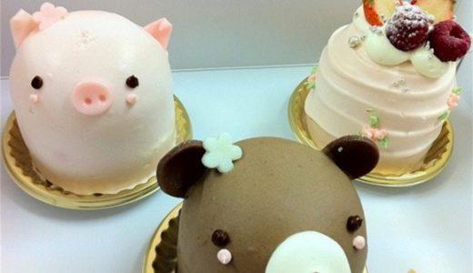 動物ケーキがかわいいアニバーサリー青山店