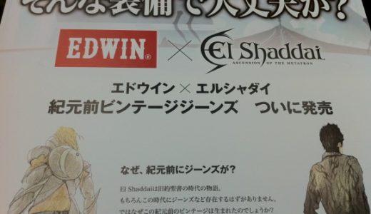 EDWIN限定ジーンズのエルシャダイPOPがノリノリな件について
