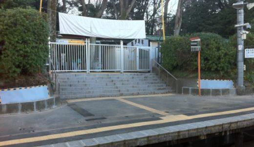 原宿駅の臨時ホーム