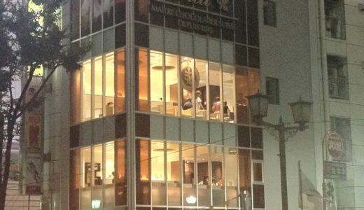リンツ渋谷店がオープン:ヒカリエを眺めながらお茶ができる