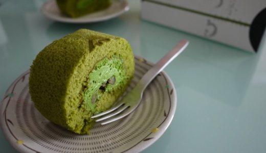 濃厚な味が魅力の辻利兵衛本店「濃厚抹茶ロールケーキ」