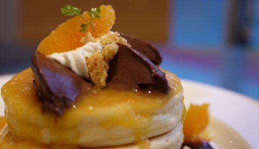 原宿レインボーパンケーキのふわふわ具合が凄い