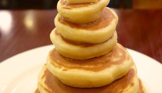 積み上げるにも程がある!浅草ミモザのスカイツリーパンケーキ