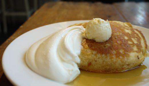 表参道のお洒落なカフェにはお洒落なパンケーキがあった。ナンバー・エー(#A)