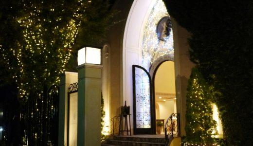 表参道デートスポット:青山ル・アンジェ教会のイルミネーション