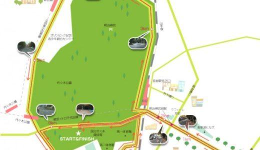 渋谷表参道 Women's Runの受付が始まる